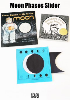 Moon Phases Activity for Kids