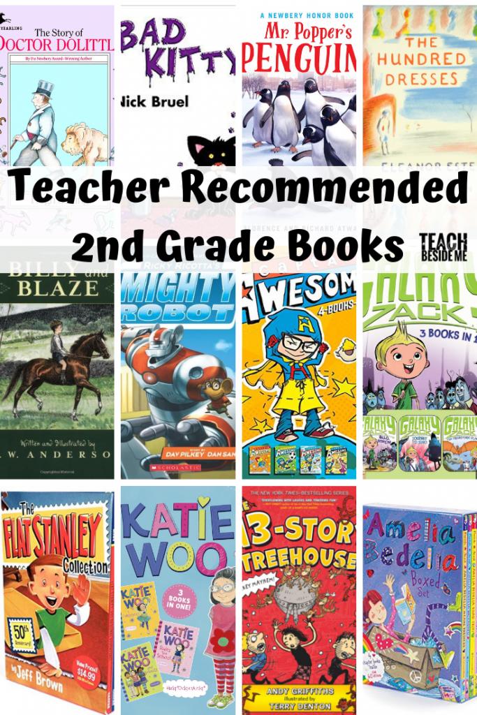 Teacher Recommended: Second Grade Books - Teach Beside Me