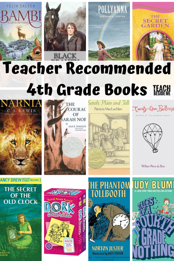 Teacher Recommended 4th Grade Books