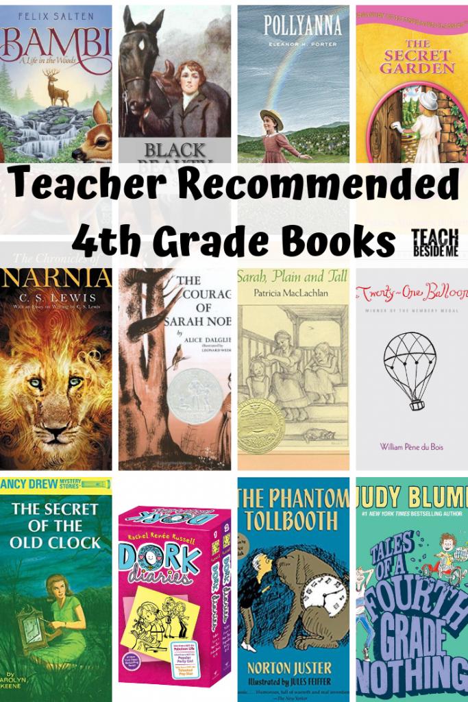 Teacher Recommended 4th Grade Books