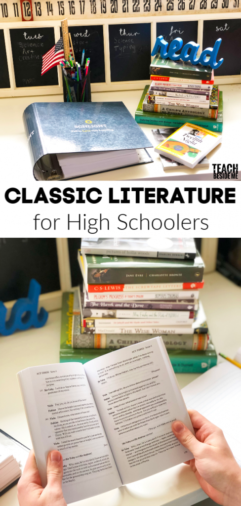 Classic Literature for High Schoolers