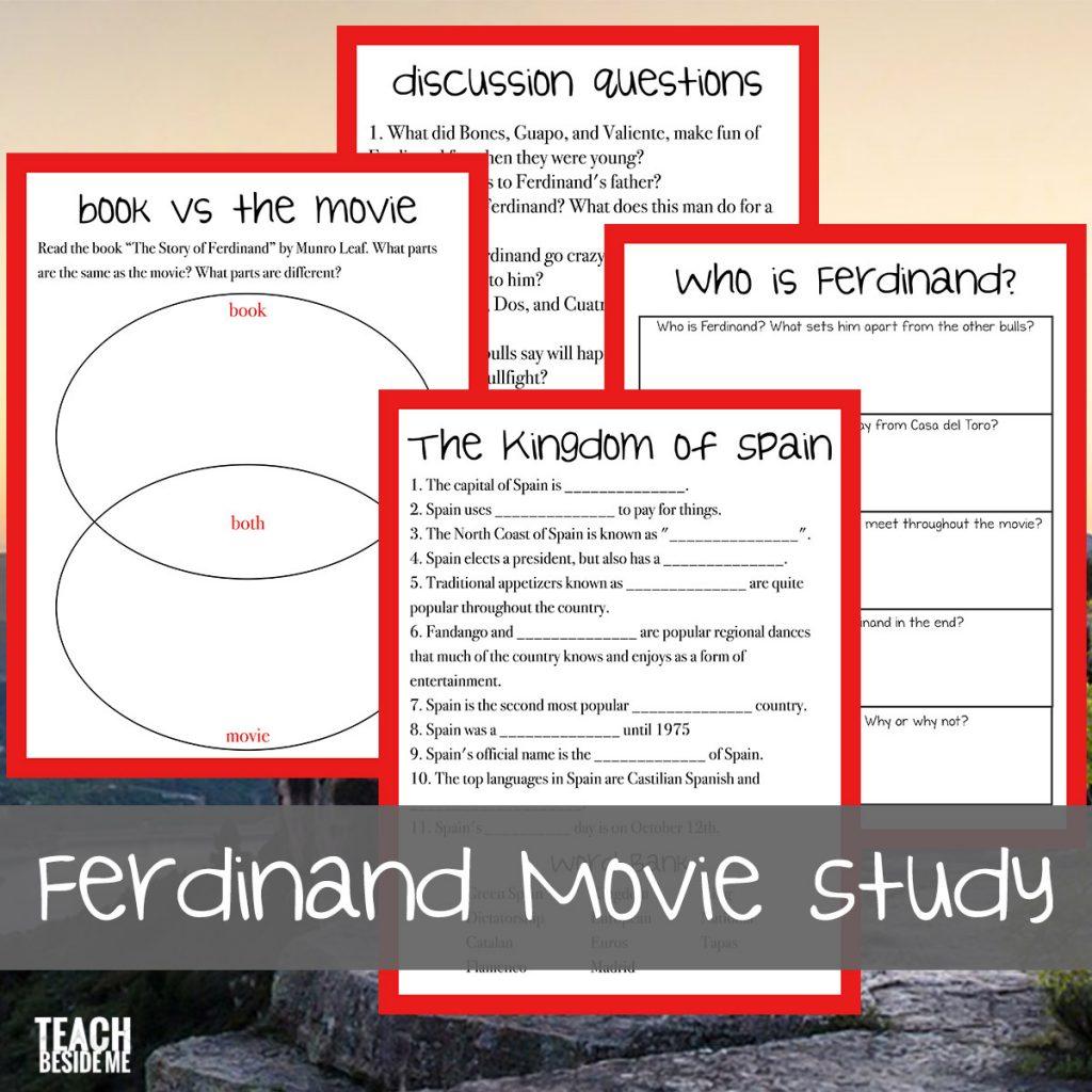 Ferdinand Unit Study