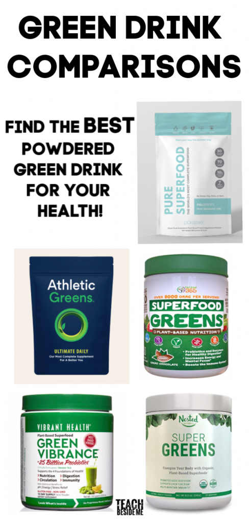 Powdered Green Drink Comparison
