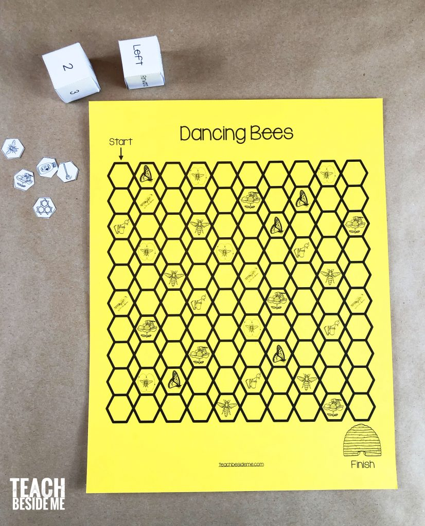 dancing bees game