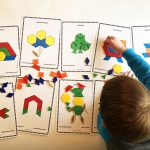 St. Patrick's Day Pattern Block Mats