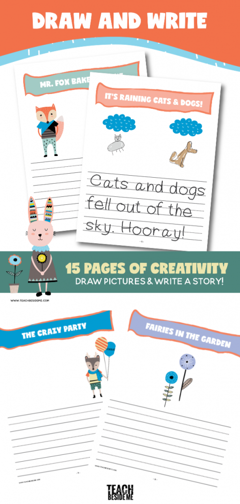 Draw and Write Creative Writing for Kids
