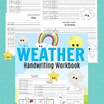 Weather Handwriting Workbook