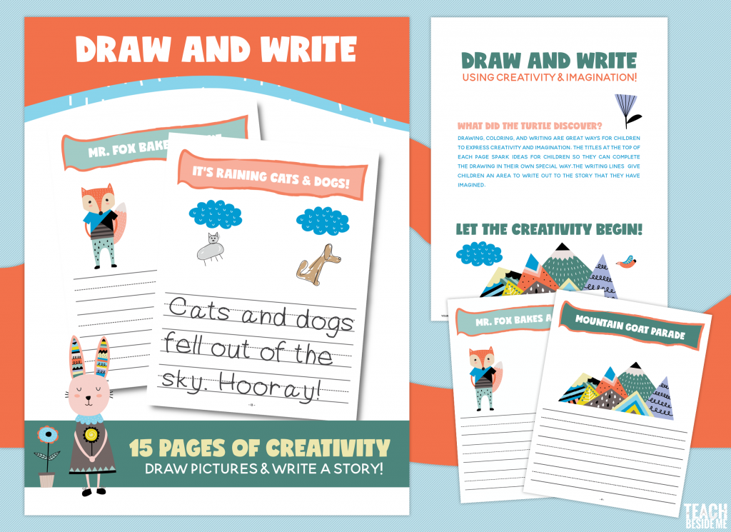 draw and write creative writing