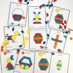 Easter Pattern Block Mats