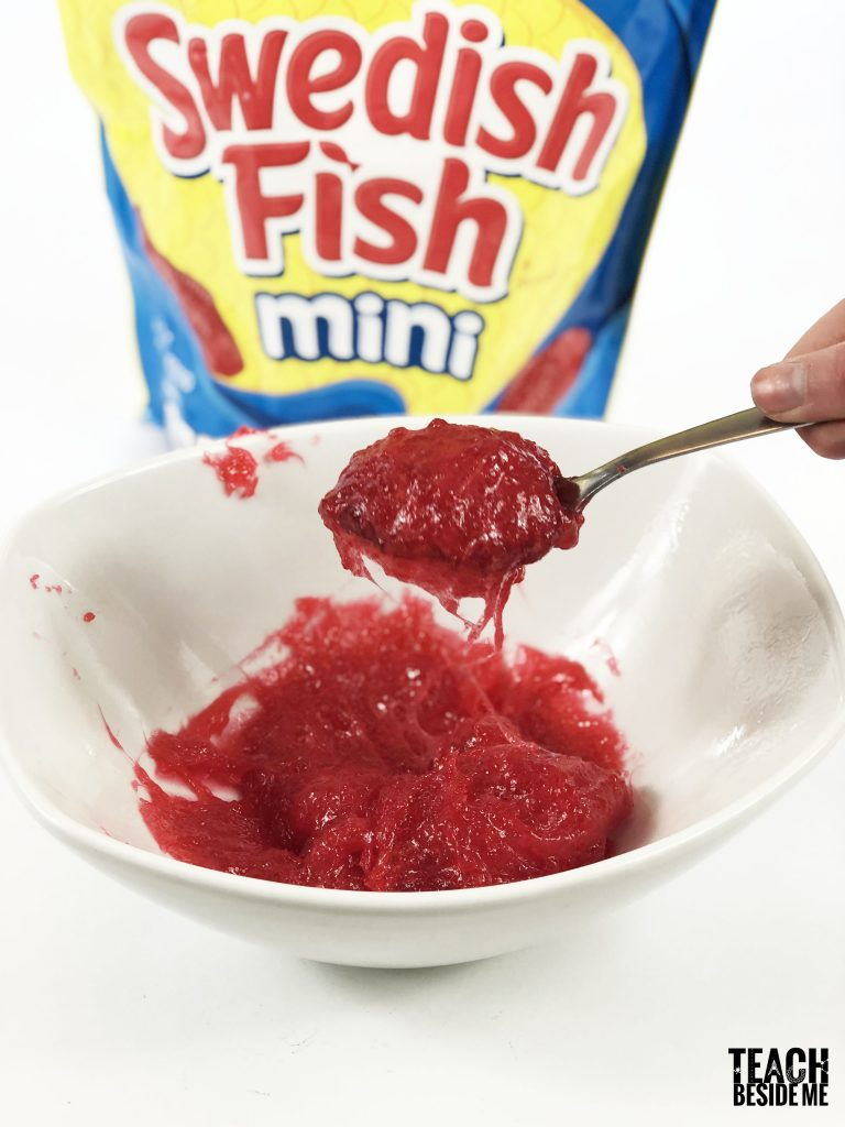 edible slime- swedish fish