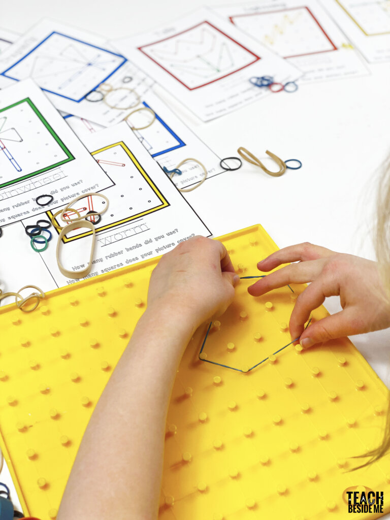geoboard activities for kids
