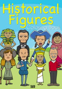 Famous Historical Figures Coloring Book