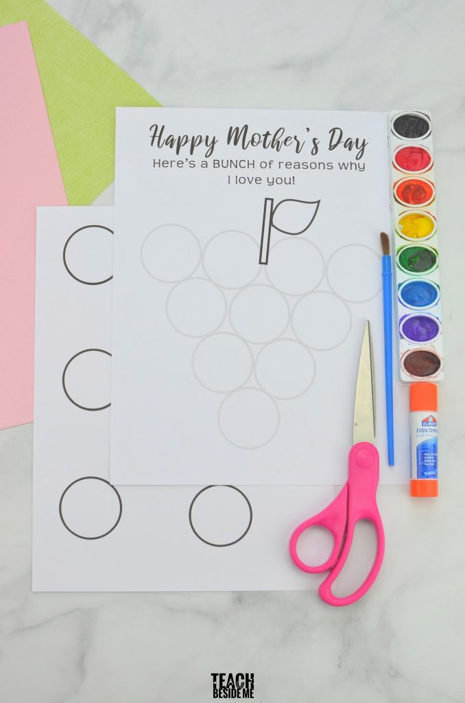 mothers day craft for kids easy