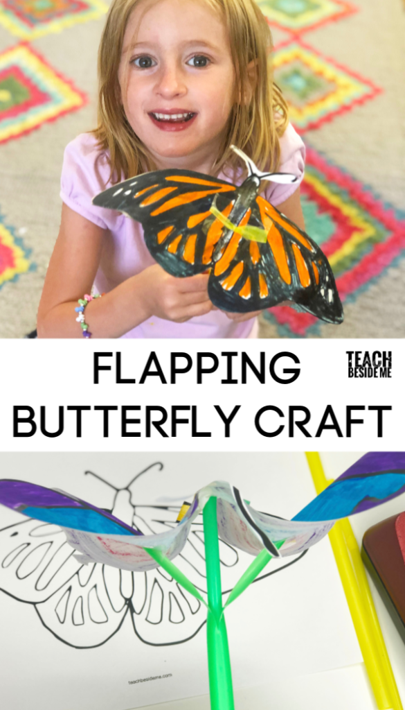 Flapping Butterfly craft that moves