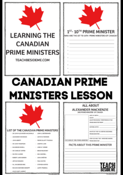 Canadian Prime Minister Lesson