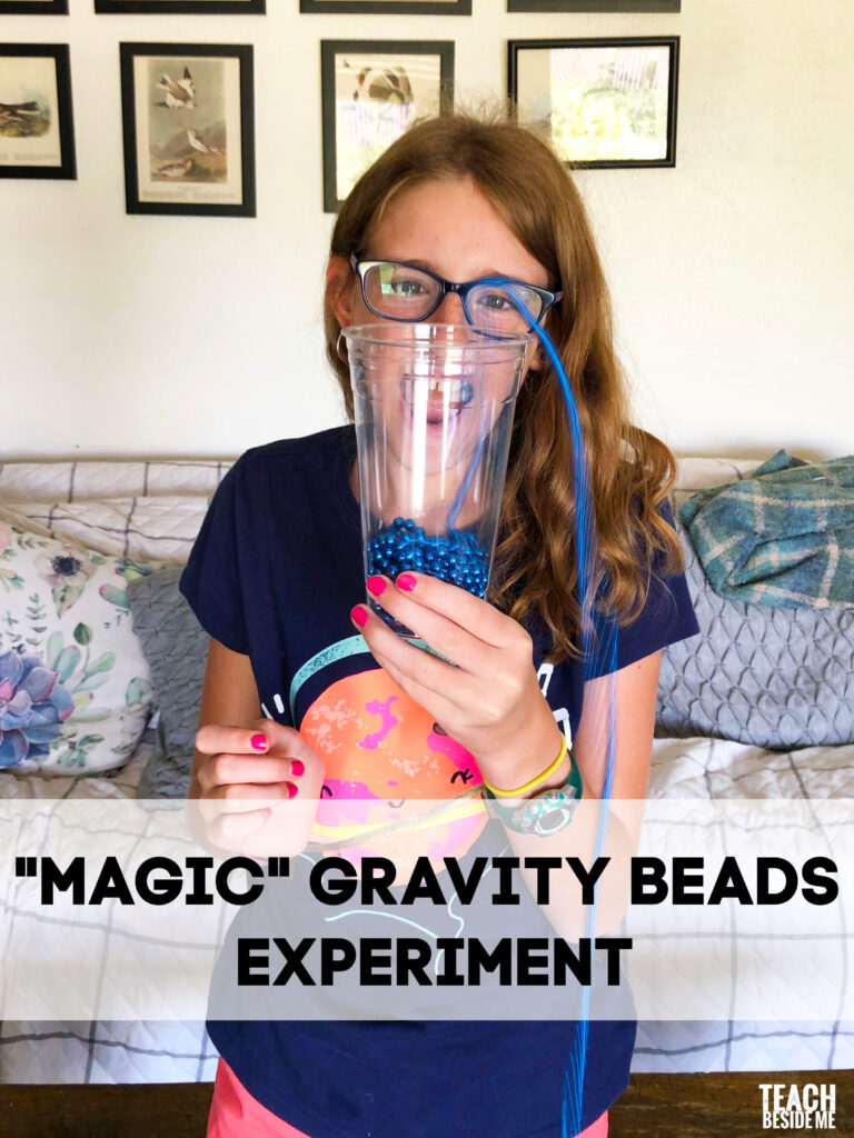 Newton's Law Magic Gravity Beads Experiment