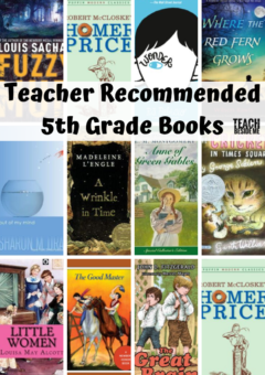 Teacher Recommended: Fifth Grade Books
