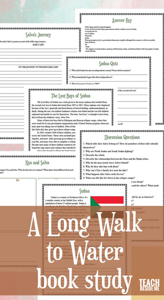 A Long Walk to Water Book Study