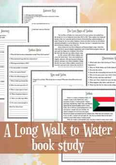 Long Walk to Water Book Study