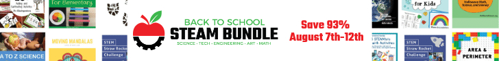Back to School STEAM Bundle Sale!