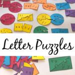 Cursive letter puzzle