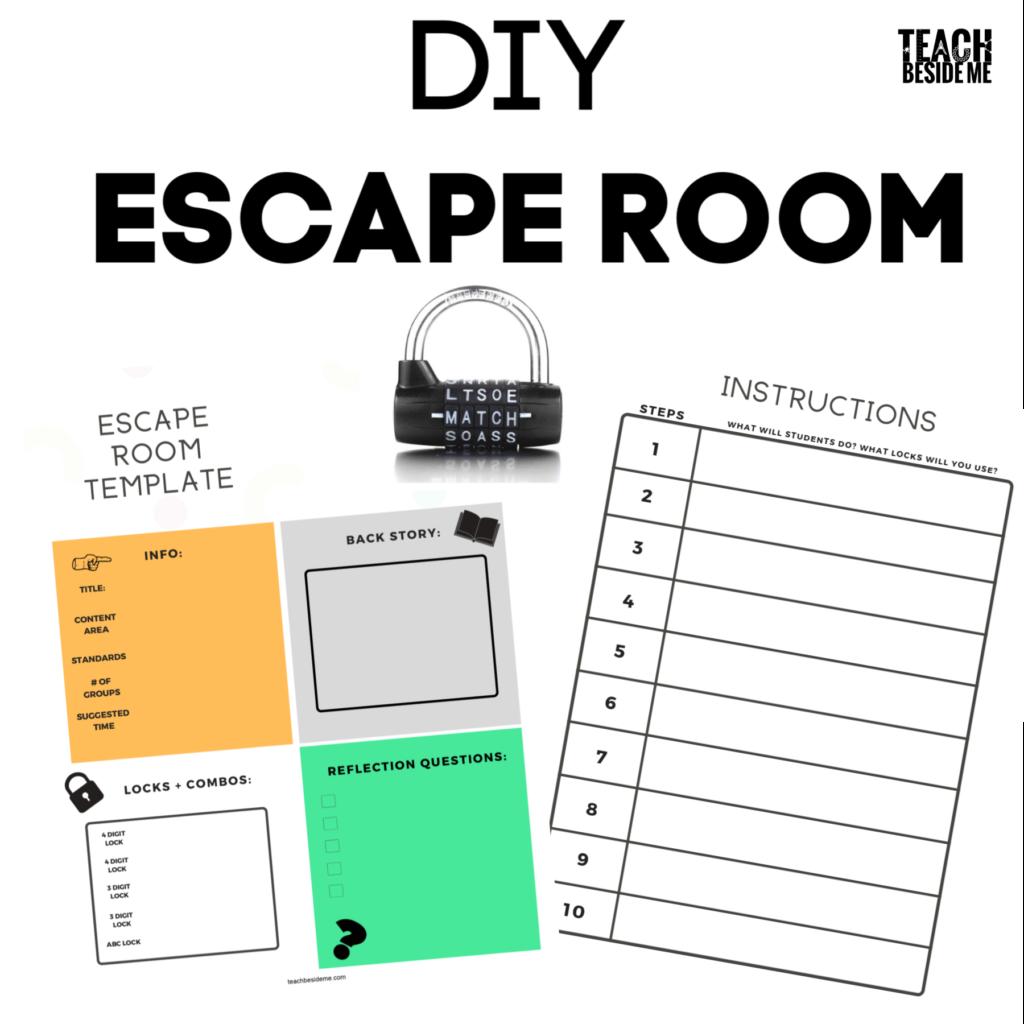 How To Create An Escape Room For Teaching Teach Beside Me