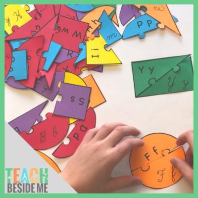 purchase cursive letter puzzles