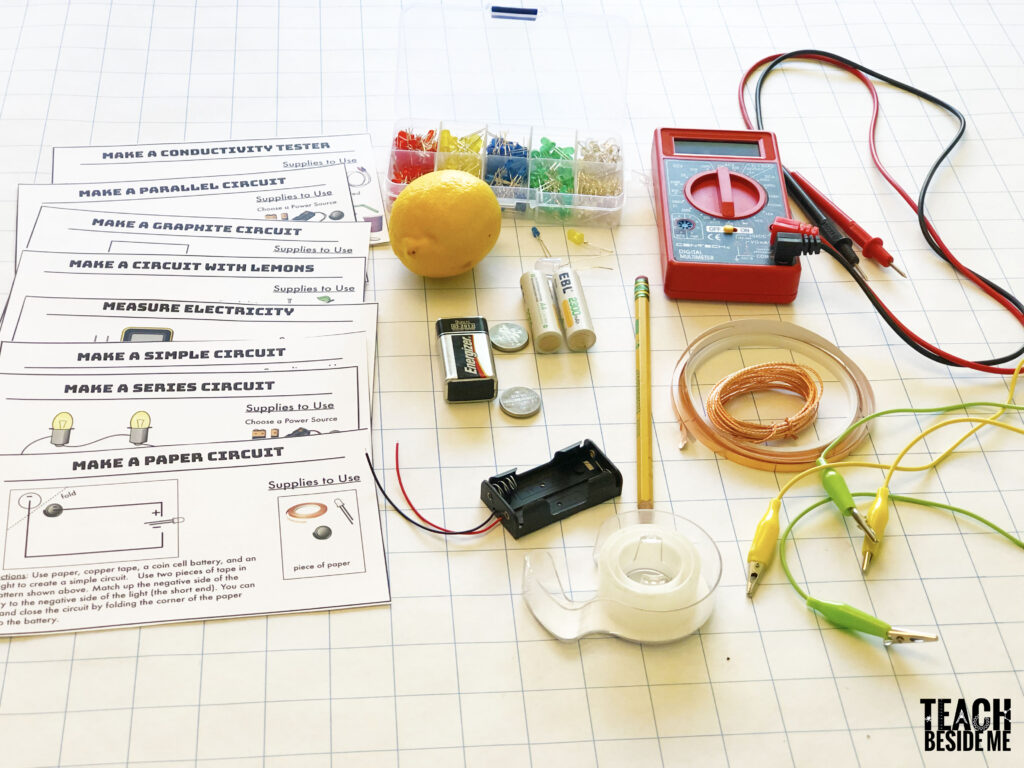 Circuit STEM challenge cards