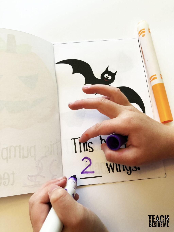 halloween math counting preschool