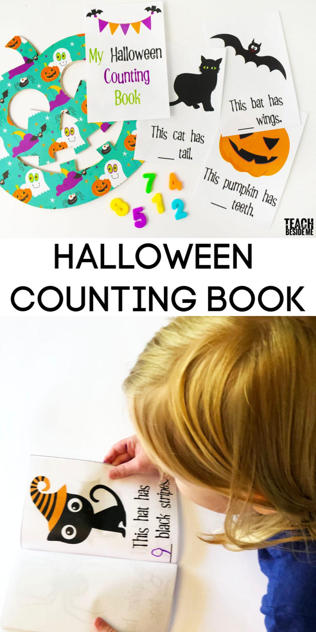 Halloween Counting ~ Math for preschool or kindergarten