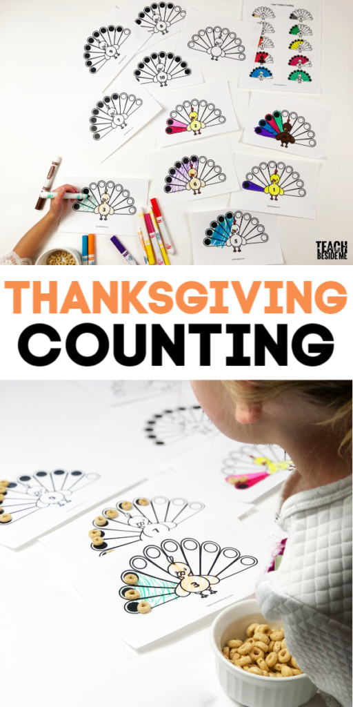 Thanksgiving Math- Turkey Feather Counting