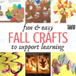 Fun and Easy Fall Crafts to Support Learning