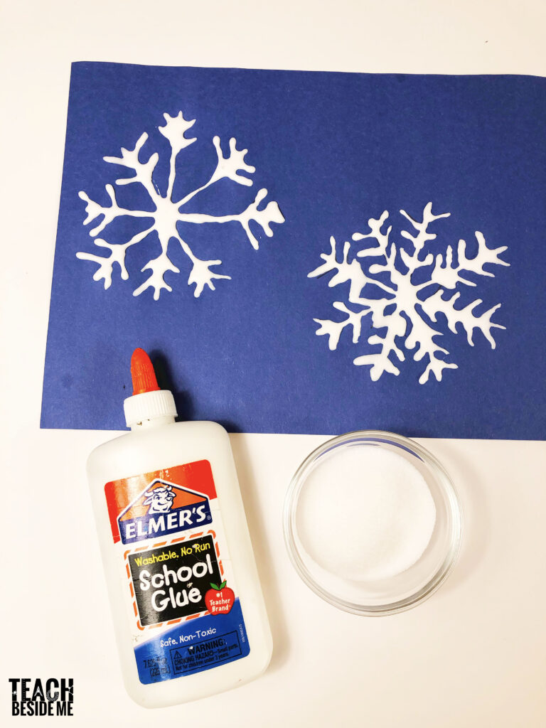 snowflake winter craft