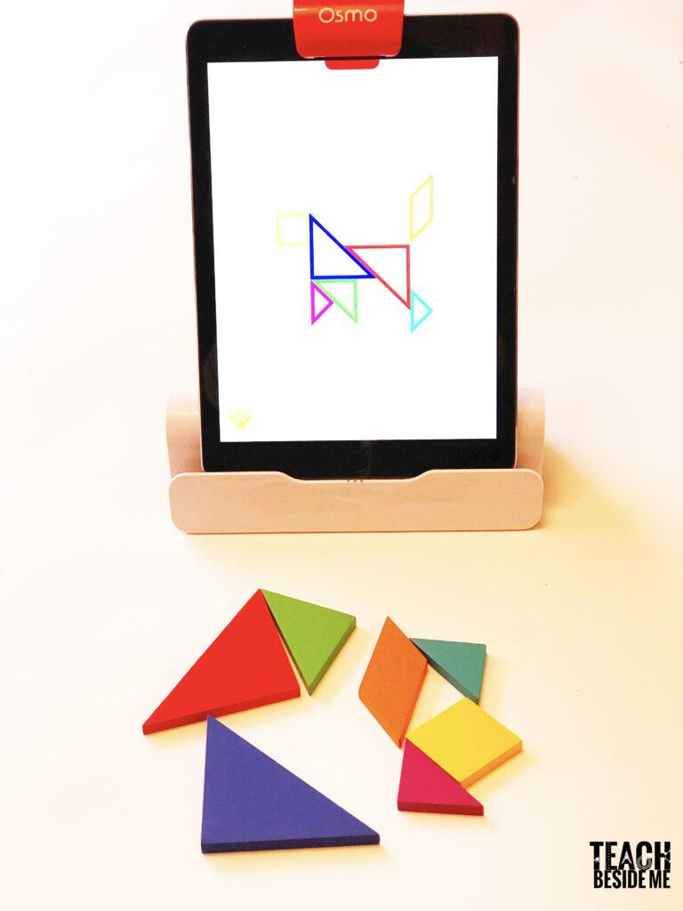 Cosmo genius tangram game