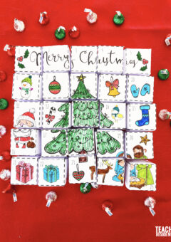 Puzzle Cube Christmas Advent Calendar