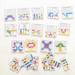 Math Art: Symmetrical Pattern Coloring Cards