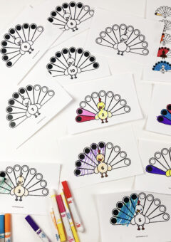 Thanksgiving Math: Counting Turkey Feathers