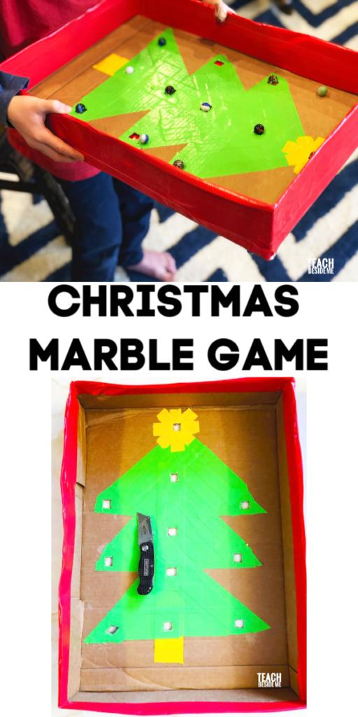 Christmas marble game
