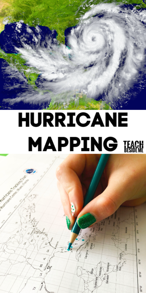 hurricane mapping STEM project