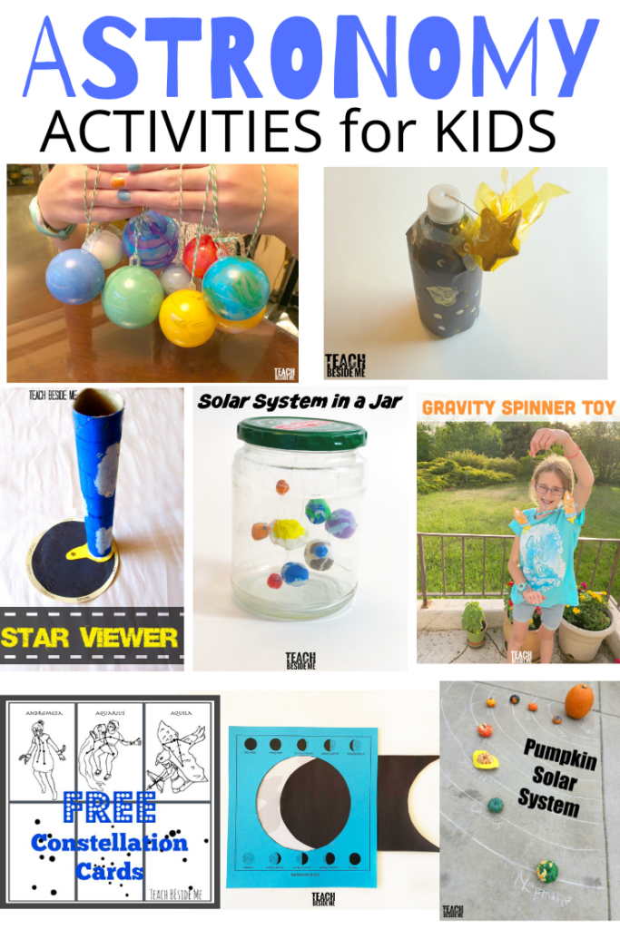 Fun Kids Astronomy Activities for teaching