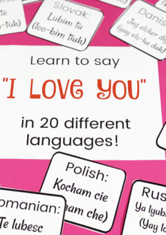 Learn to Say I Love You in 20 Different Languages