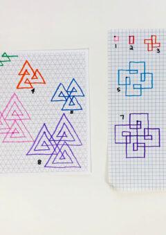 Math Art: Spirolaterals