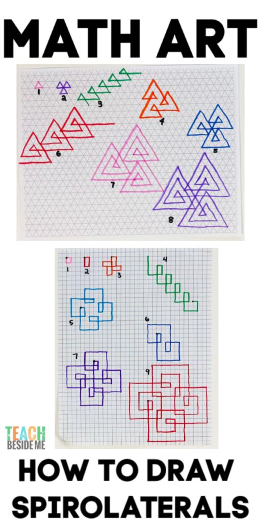 Math Art- Spirolaterals