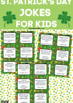 Printable St. Patrick's Day Jokes for Kids