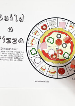 Build a Pizza Fraction Game