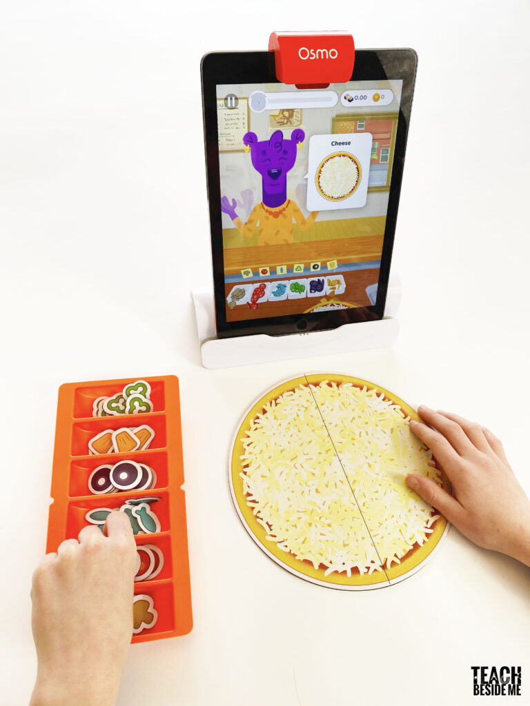 pizza math with osmo