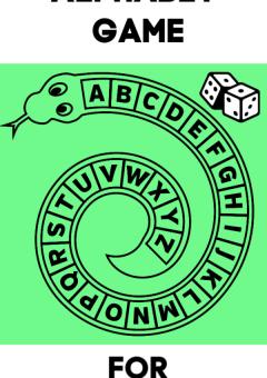 Snake Alphabet Game for Preschoolers