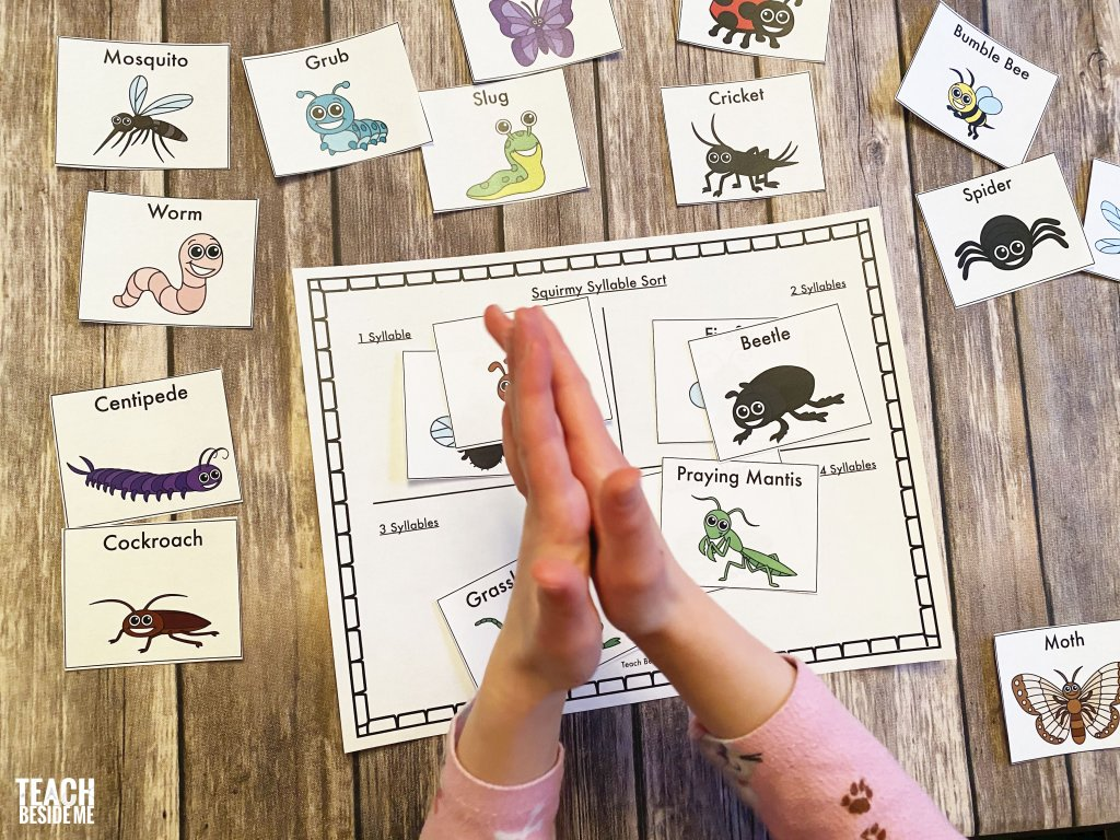 clapping syllables