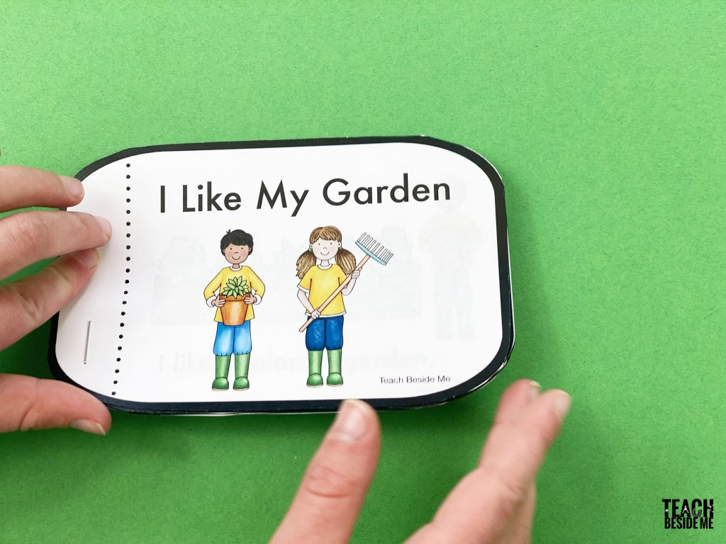 garden theme book for kindergarten