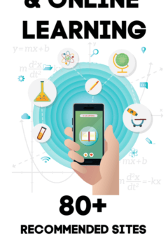 80+ At Home and Online Learning Ideas